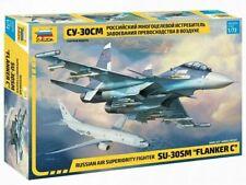 SUKHOI Su-30 SM FLANKER C/H (RUSSIAN OVER SYRIA & KAZAKH MKGS)7314 1/72 ZVEZDA