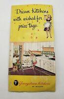 1948 Youngstown Kitchens Mullins Vintage Advertising Kitchenaider Brouchure Ad