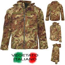 Giubbotto Giacca Parka VEGETATO ITALIANO Esercito Impermeabile Giubbino mimetico
