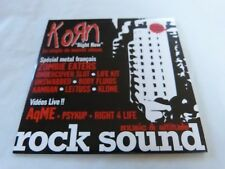 KORN - RIGHT NOW !!!FRENCH EXCLUSIVE  CD !!!!!!!!!!