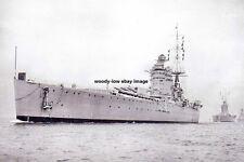 rp14292 - Royal Navy Warship - HMS Nelson , built 1927 - photo 6x4