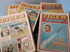 Buy individual Tiger & Jag, Tiger & Scorcher, Tiger & Speed backissues 1971-1981