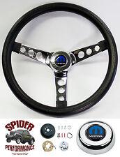 """1970-1976 Coronet Dart Demon steering wheel MOPAR 13 1/2"""" CLASSIC CHROME wheel"""