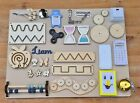 Montessori Busy Board Accessories DIY Toddler Activity Sensory Parts Elements
