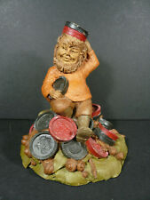 Vintage Tom Clark Gnome Chubby Checkers Figurine Signed 1986 #12