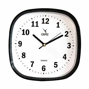 CAMY  Round Wall Clock Quality Quartz Battery Operated for Home Decor AS15
