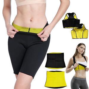 Hot Body Shaper Neoprene Slimming Waist Pants Yoga Vest Sweat Sauna Gym Exercise