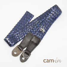 fashion blue Cam-in Camera Weave Shoulder Neck Strap for Leica Sony FUJI 8643B
