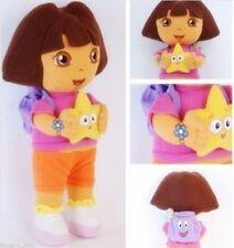`New DORA THE EXPLORER Kids Girls Soft Cuddly Stuffed Plush Toy Doll