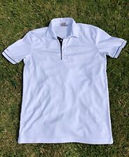 Ping Sensor Cool White Short Sleeve Polo Top Size M Excellent Condition