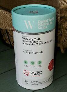 Spotlight Oral Care Teeth Whitening Strips 28 strips/14 treatments 1 gum oil pen