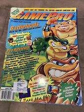 Gamepro Video Game Magazine January 1993 Covers Battletoads — A Beefy 236 Pages!
