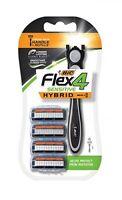 BIC Flex 4 Sensitive Men's 4 Blade Disposable Razors 4ct (3+1)