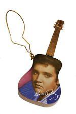 ELVIS PRESLEY Gold Guitar CHRISTMAS TREE Toy ..New