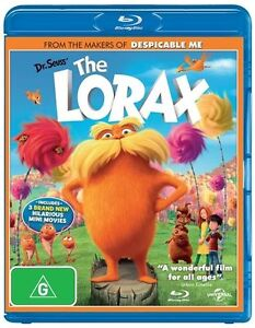 Dr. Seuss' The Lorax (Blu-ray, 2012)