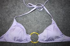 Victoria's Secret Yellow & Gold Ring Circle Bandeau Bikini Top Lavender Purple S