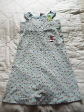 BNWT Gymboree girl's jersey cotton floral dress Age 7 Cath Kidston alike NEW