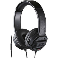 JVC HASR50X Xtreme Xplosvs Bass DJ Style Over-The-Ear Headphone w/Mic Remote