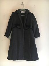 Tailored By Rothschild USA Girl Kids Coat Formal Dressy Size 8 Wool Blend Winter