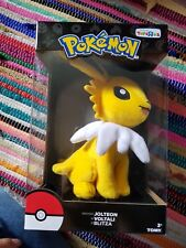 Jolteon Plush BRAND NEW Toys R Us Exclusive Pokemon TRU TOMY 8 inches~NIB