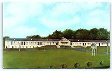 Postcard VA Leesburg Piedmont Motel on Route 15 E13