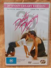 DIRTY DANCING(20TH ANNIVERSARY 2 DISC EDITION)PATRICK SWAYZE  DVD M R4