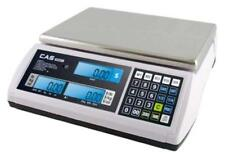 Cas S2000Jr 60Lb Price Computing Retail Scale Lcd Display,Ntep, Legal for Trade
