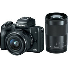 "Canon eos m50 15-45mm 55-200mm 24.1mp 3""  Agsbeagle"