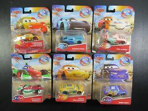 Disney Pixar Cars Color Changers Lot Francesco Bernoulli Swift McQueen PKG WEAR