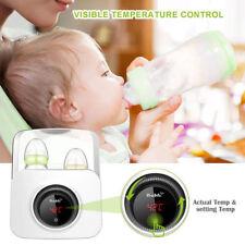 Bable Bottle Warmer, Bottle Steam Sterilizer Lcd Multipurpose Baby Bottle Warmer