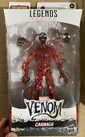 "Marvel Legends Carnage Symbiote Venompool BAF Maximum Venom 6"" New IN HAND Mint"