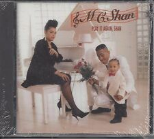 "MC SHAN  ""Play It Again, Shan""  NEW SEALED R & B / HIP HOP CD   (RARE - OOP)"
