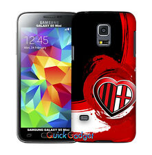 CUSTODIA COVER MILAN CALCIO PER SAMSUNG GALAXY S5 MINI G800F