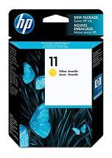 HEWLETT-PACKARD 11 Cartridge / Model #: C4838A / Color: YELLOW / BRAND NEW OEM