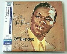 Nat King Cole Love Is The Thing SACD CD Hybrid STEREO SOUND SSVS-010 Limited