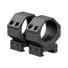 Heavy Duty 30mm Scope Rings Medium Rise 4 Screw For 1913 Picatinny Rail Mounts