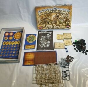 Advanced HeroQuest - MB - Unused/Unpunched/On Sprues - Board Game