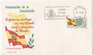 Spain FDC 1978 – Michel nº 2399 (España Sobre Primer Día de Circulación)