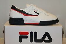 low priced fc54e 68e97 FILA Original Fitness Low White Youth Kids Shoe Size 5