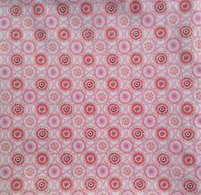 "LIBERTY ART FABRICS, TANA LAWN, RETRO  ""MADDOCK"" C  3.5  Metres pink"