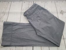 Copper Key Pants Sz 3 Blue White Striped Sailor Button Casual Trouser
