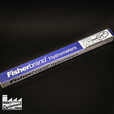(Lot of 3) New FisherBrand Hydrometer 11-555H Specific Gravity Size 1.060-1.130