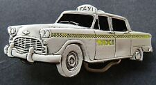 BOUCLE DE CEINTURE NEW YORK YELLOW TAXI CAB NYC DRIVERS STREET CARS BELT BUCKLE