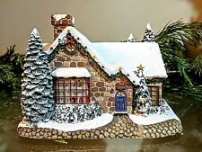 "Thomas Kinkade Christmas ""Fine China Shoppe"""
