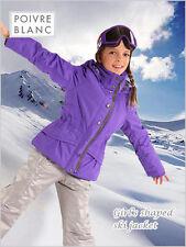 Poivre Blanc Filles Veste de ski 6 ans/116 cm Grape NEUF + ÉTIQUETTES RRP £ 173.00