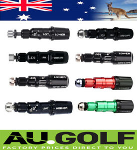 Golf shaft Adapter Sleeves for TaylorMade Models - 9 Types