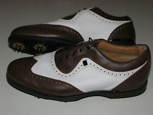 FootJoy Icon Black Premium Leather Golf Shoes sz 11M
