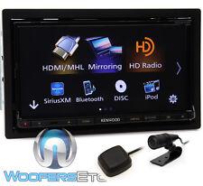 "KENWOOD DDX9703S IN-DASH 2-DIN 6.95"" TV CD DVD BLUETOOTH USB PANDORA HD RADIO"
