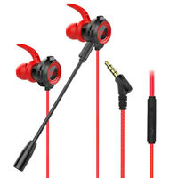 G11-A Wired In-Ear Gaming Earphones with Microphone for Phones/PC Portable SUPER