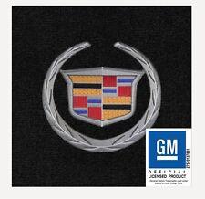 Cadillac ELR LLOYD ULTIMAT MATS! EBONY 4 PC WREATH & CREST FRONT MATS!